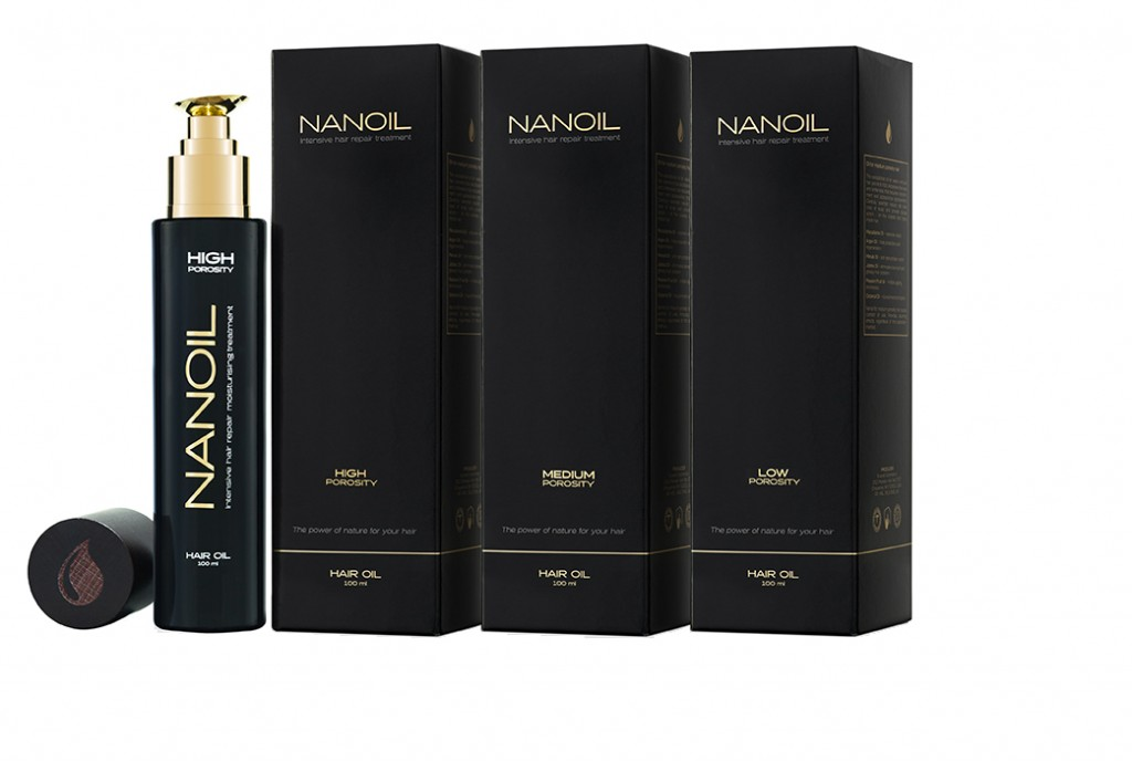 Nanoil - haircare product