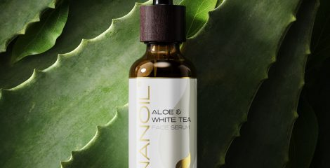 nanoil aloe & white tea